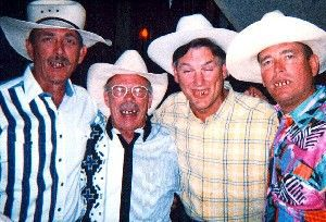 The Four Horsemen of the A-Pack-o-Lips.