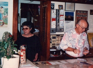 Mary Ann - ½ owner of the Pioneer - RIP. See Chuck next.
