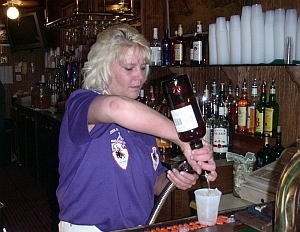 Keri - Red Wood bartender and one of the best in town.