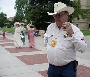 Larry - Grand PooBah Parade Marshall, loves a good joke