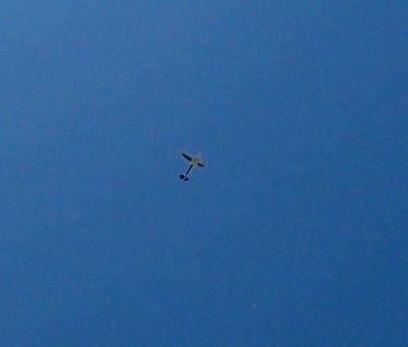 A Piper Cub? A model plane?